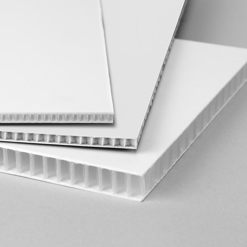 Placas de Corrugado Plástico